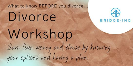 Second Saturday®  On-line Divorce Workshop