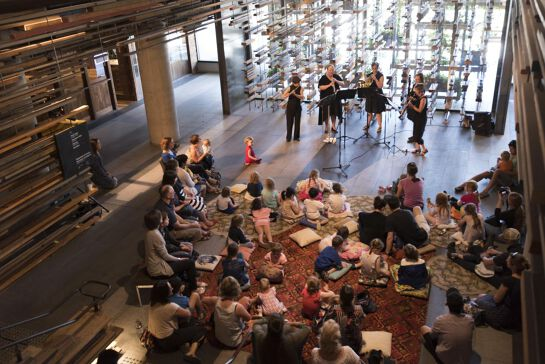 Kids Cushion Concerts: Music Around the World