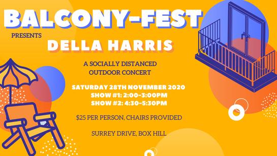 Balcony-Fest presents Della Harris