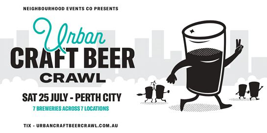 Urban Craft Beer Crawl - Perth City