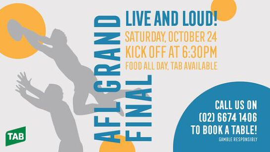 AFL Grand Final at the Kingy