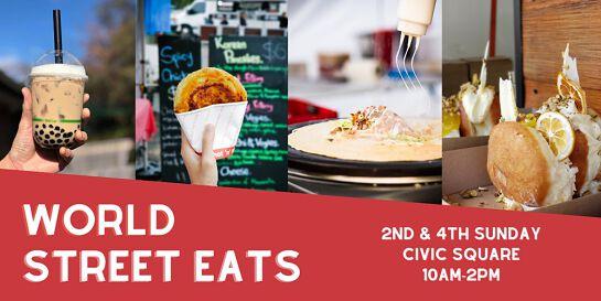World Street Eats - Taste the World at Launceston Civic Square
