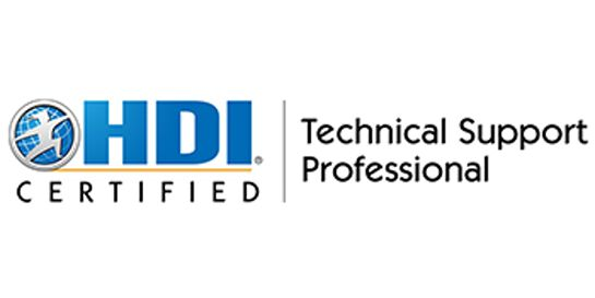 HDI Technical Support Professional 2 Days Training in Darwin