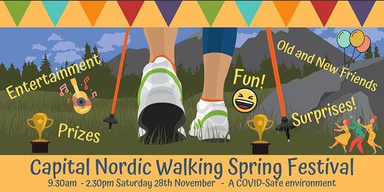 CAPITAL NORDIC WALKING SPRING FESTIVAL