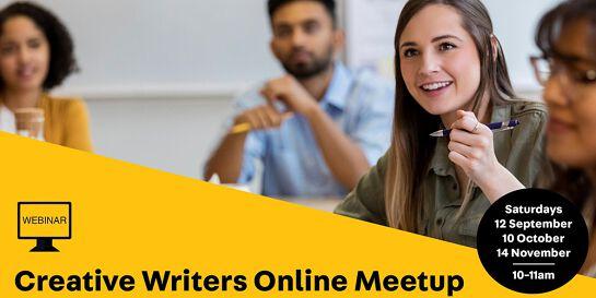 WEBINAR: Online Creative Writers Meetup