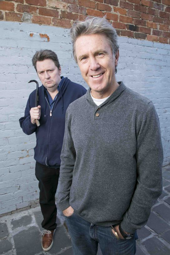 Glenn Robbins and Dave O'Neil in 'Now I'll have to Kill you'