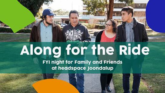 Along for the Ride: FYI Night for Family & Friends