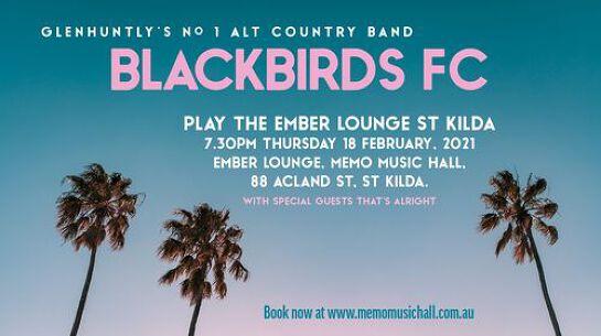 Blackbirds FC play the Ember Lounge