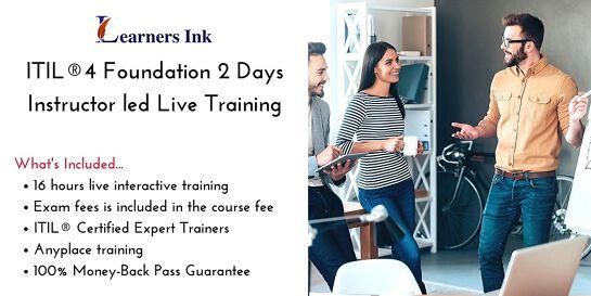 ITIL®4 Foundation 2 Days Certification Training in Kununurra