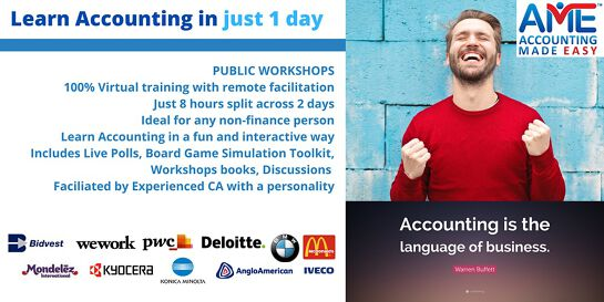 Accounting Made Easy 1 Day Training Program WEEKDAYS