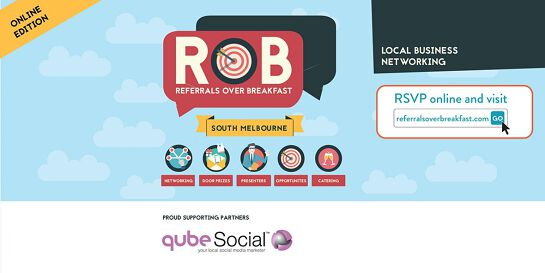 Online Edition: South Melbourne - Referrals over Breakfast (RoB)