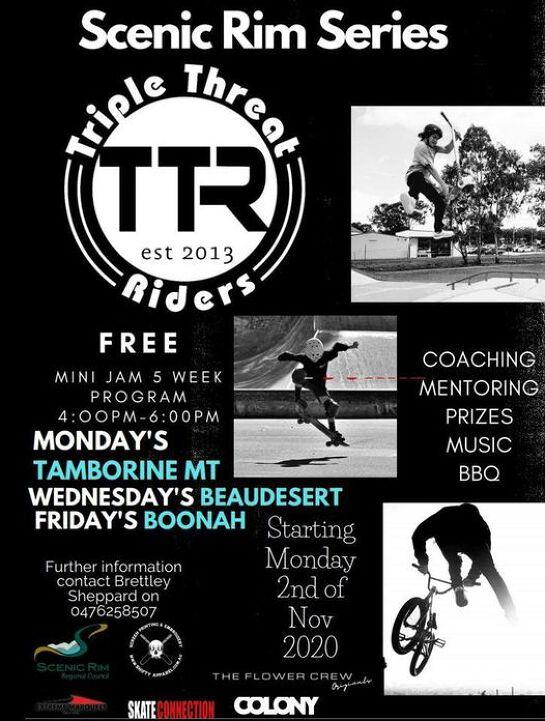 Scenic Rim Skatepark Series