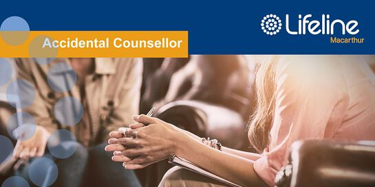 Accidental Counsellor on-line workshop