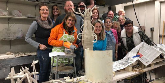 Introduction to paper clay workshop