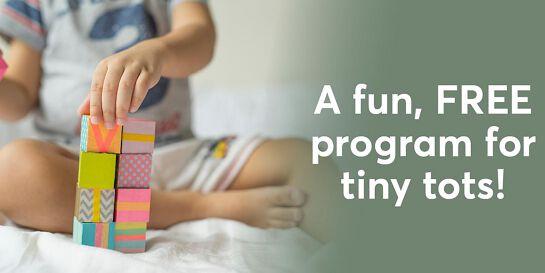 Tiny Tots - Making Rainbows - Tuesdays