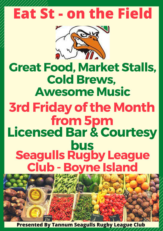 Eat St Markets - On the field (Fri 18-Sat 19 Dec)