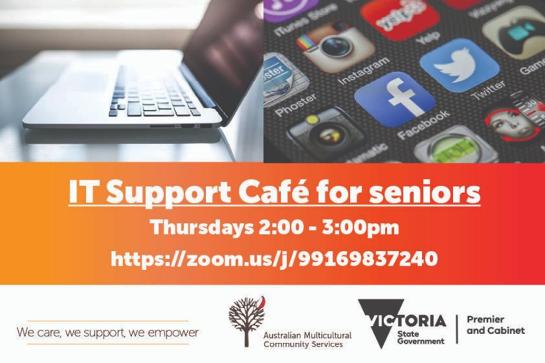 Online IT Support Café