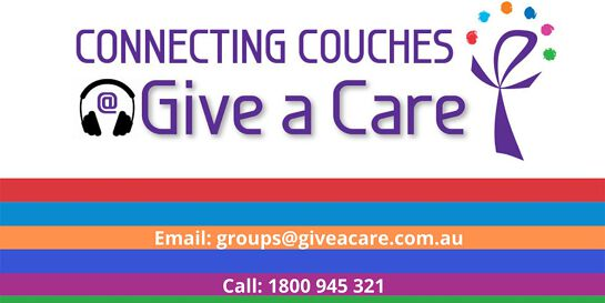 Connecting Couches @ Give a Care - Art with Heather