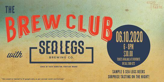 The Brew Club - Sea Legs Brewing Co.