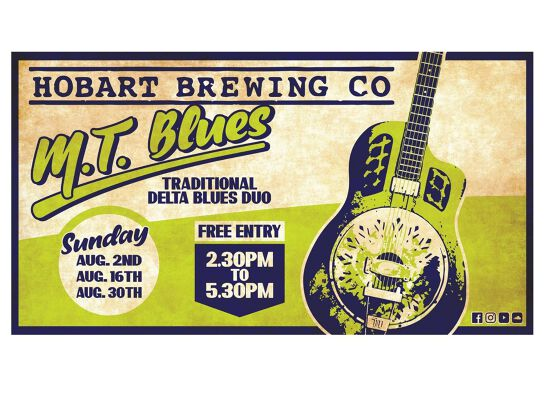 M.T. Blues Live at Hobart Brewing Co.