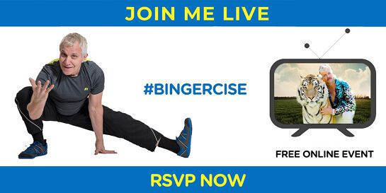 Bingercise | Workout While You Binge-Watch Your Fav Shows