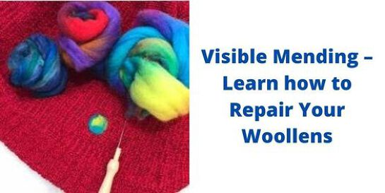 Visible Mending – Learn how to Repair Your Woollens