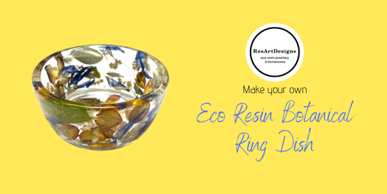 Eco Resin Botanical Ring Dish Workshop