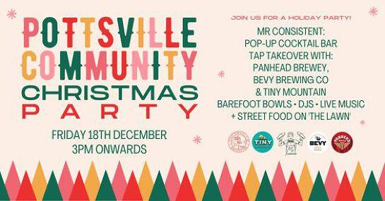 Pottsville Community Christmas Party at Pottsville Sports