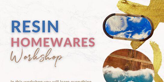 Resin Homewares Workshop