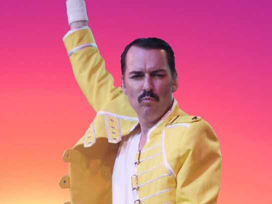 50th Anniversary Queen Greatest Hits - I Want To Break Free Tour