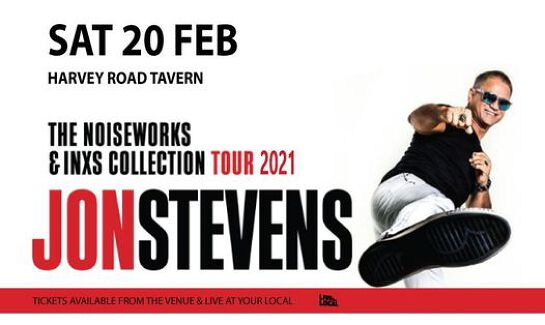 Jon Stevens - The Noiseworks & INXS Collection | Gladston