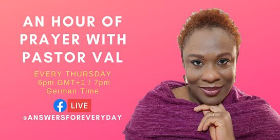 AN HOUR OF PRAYER WITH PASTOR VAL