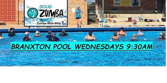 Aqua Zumba at Branxton Pool