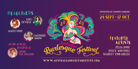 The Australian Burlesque Festival – Tropical Tease!