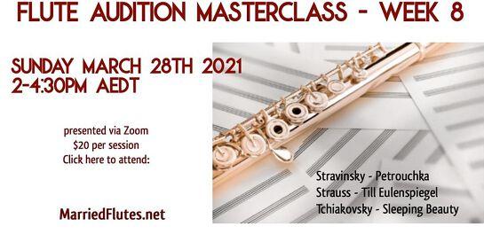 Flute Audition Masterclass #8