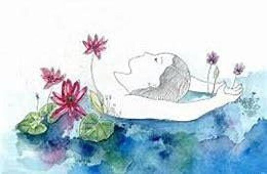 Finding stillness from within...Yoga Nidra + watercolours... Sunshine Coast