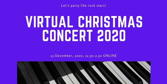 Melbourne Performing Arts, ASRC, & Piano Project Christmas Fundraiser