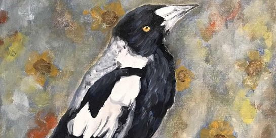 Acrylic Painting - Paint a BIRD of your choice (Paint and Sip)