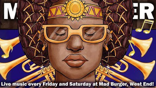 Moonlight Sessions at Mad Burger