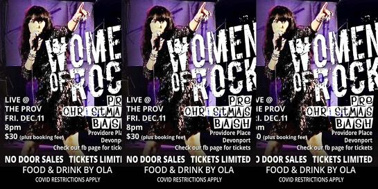 Women Of Rock live at the Prov