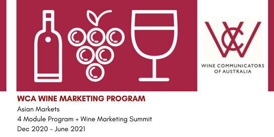 WCA Wine Marketing Program: Asian Markets + Wine Marketing Summit 2020-2021