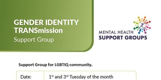 Gender Identity Support Group - 1st Tuesday