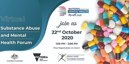 Virtual Forum on Substance Abuse and Mental Health