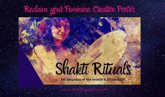 Shakti Rituals {In person + online}
