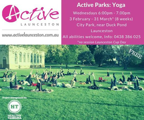 Active Parks: Yoga
