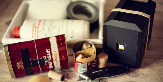 Pinhole Photography-make your own camera-school holiday session