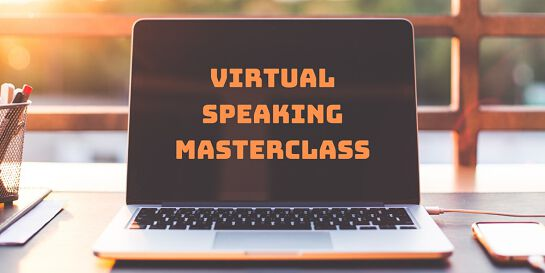 Virtual Speaking Masterclass Melbourne