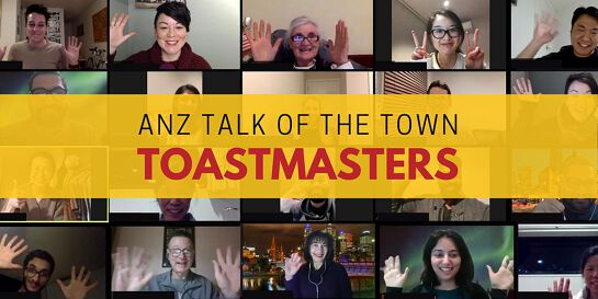ANZ Talk of the Town Toastmasters ONLINE