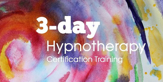 Hypnosis: 3 day Certification course (online)
