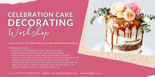 Celebration Cake Decorating Workshop